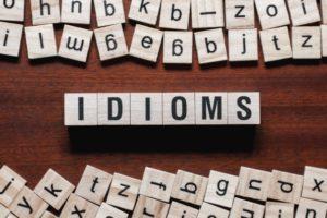 GMAT Idioms