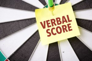good GMAT Verbal score