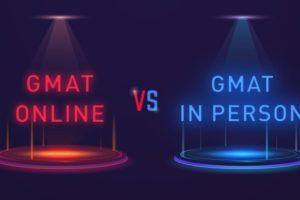 GMAT online vs test center