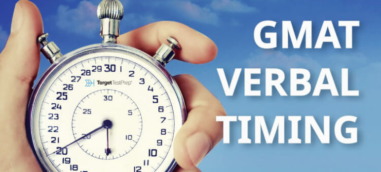 gmat verbal timing strategy